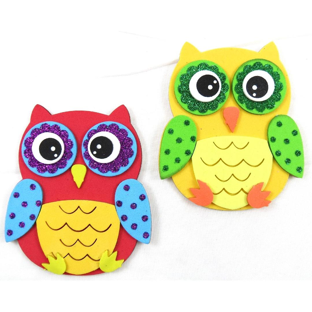 Foam DIY Owl Kits (Makes 10)