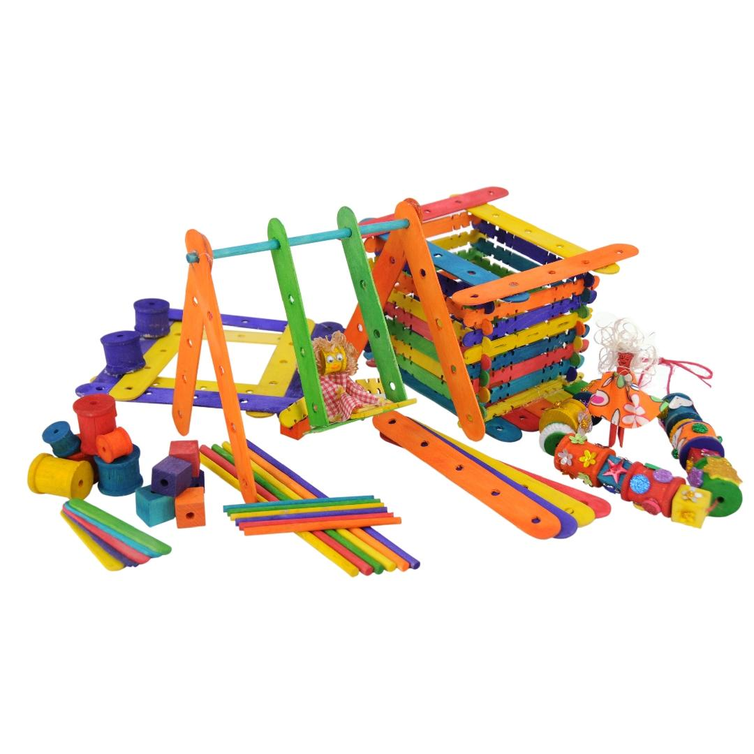 Coloured Construction Value Pack (1000pcs)