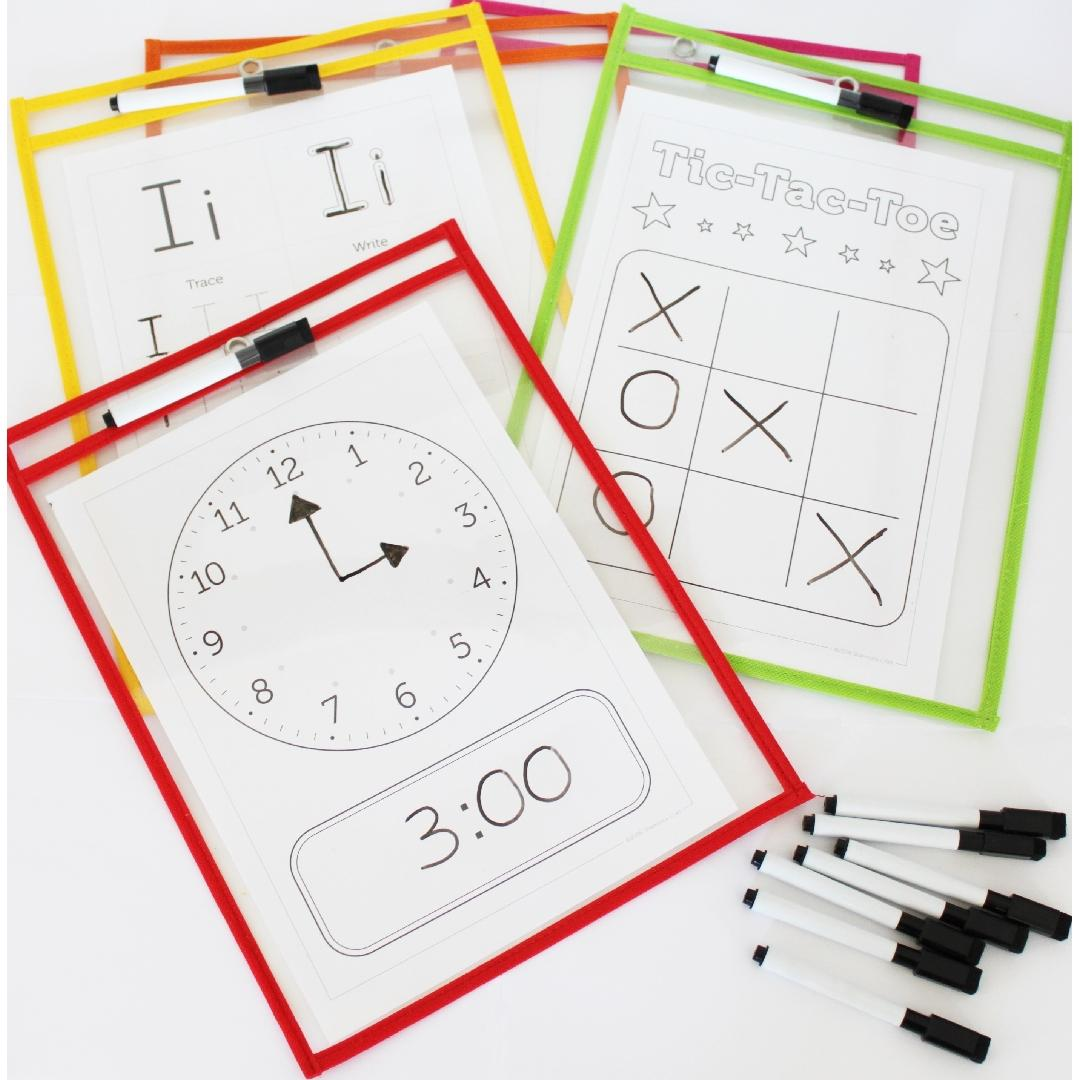 Pupil Pockets (Set of 10)
