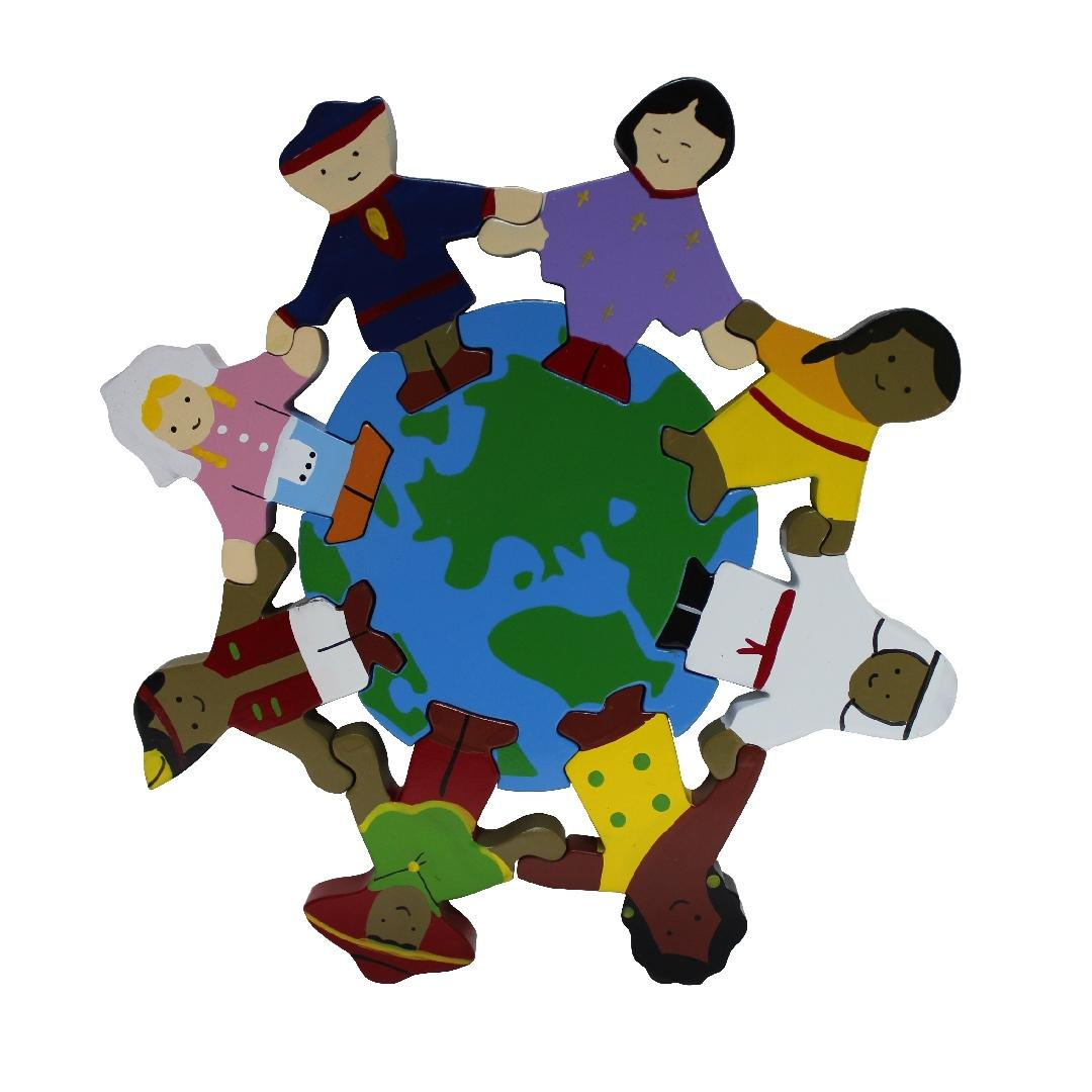 Children of the World Wooden Puzzle