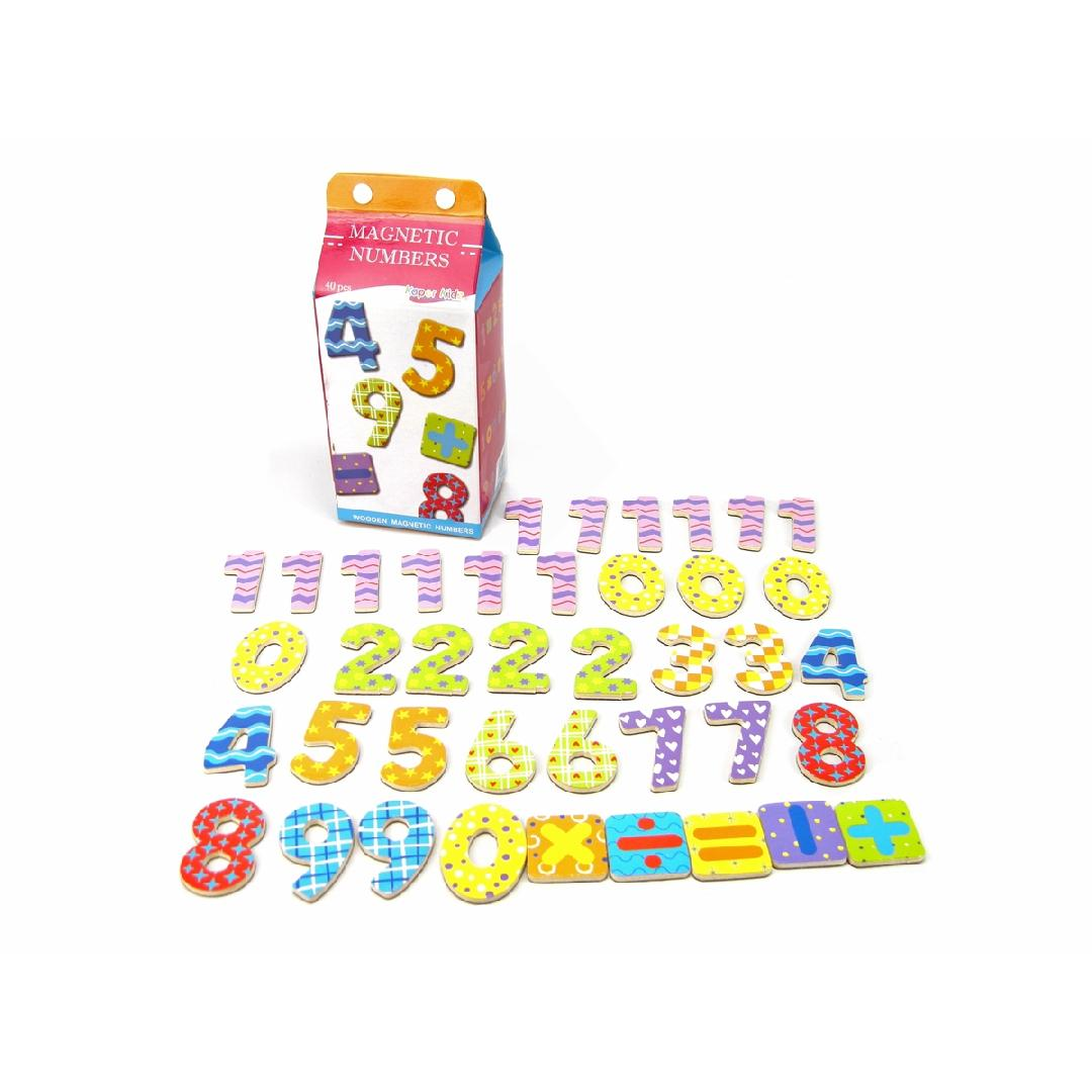 Magnetic Numbers in Carton