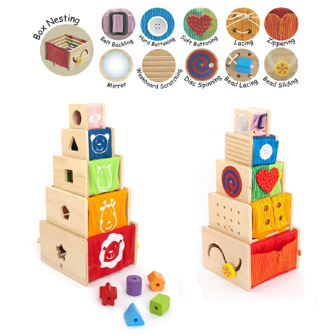 Stacking Activity Boxes