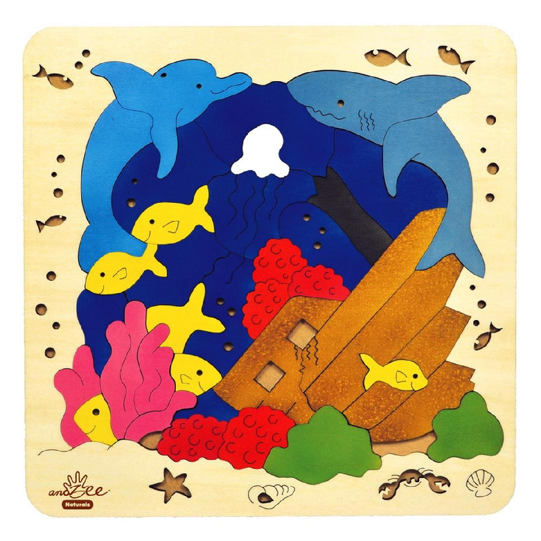 Under The Sea Scene Puzzle (36pcs)
