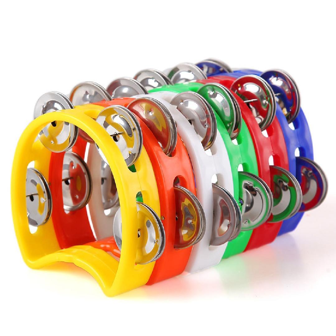 Mini Plastic Tambourine