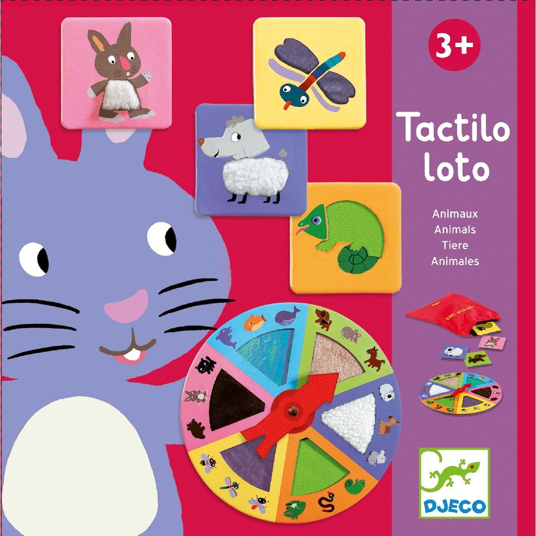 Tactile Lotto Game