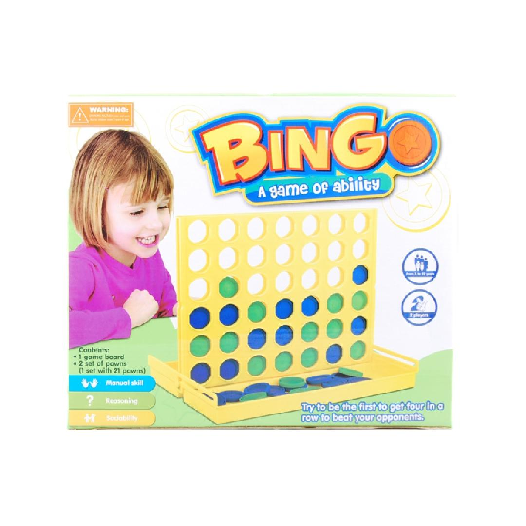 Bingo Connect Four Game