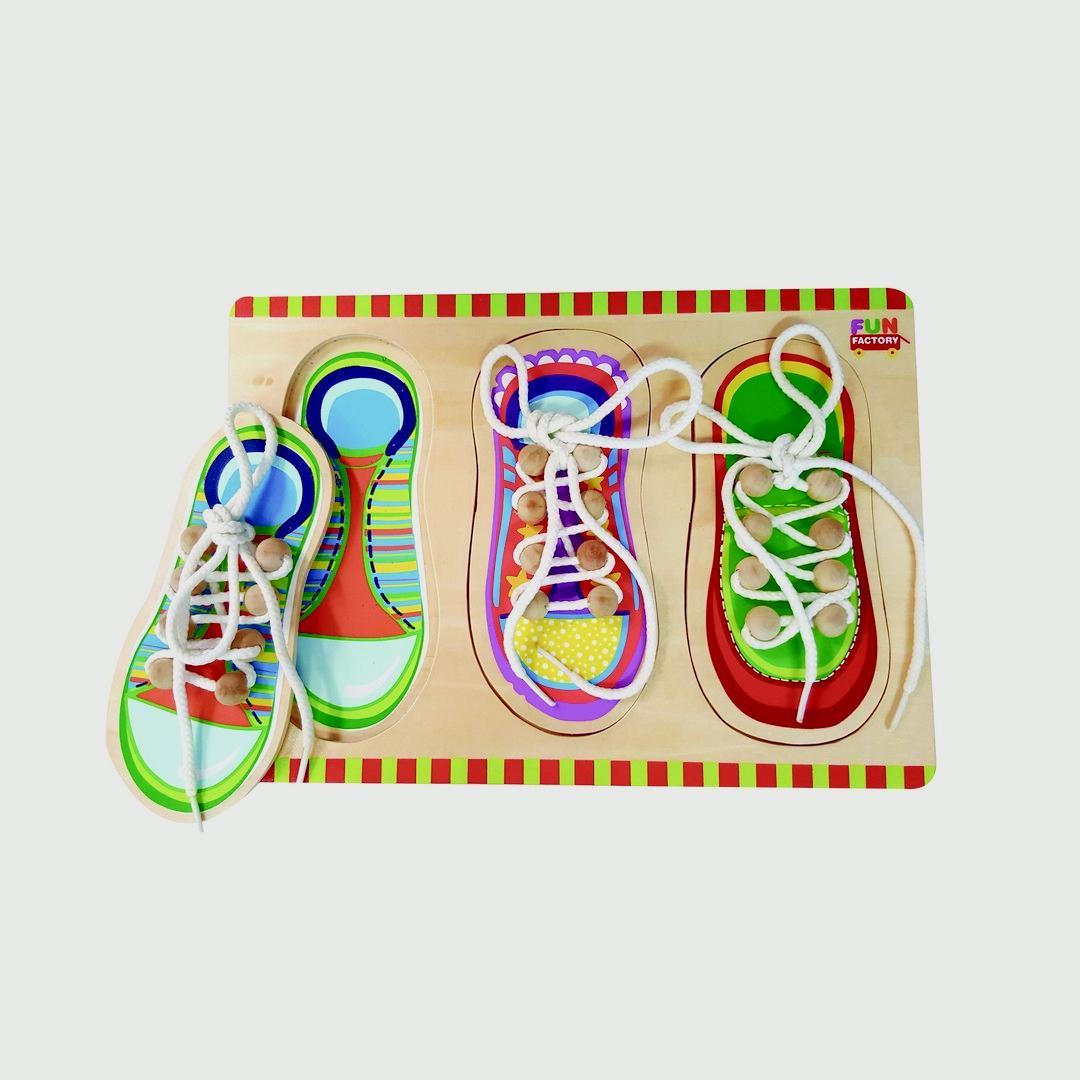 Shoe Lacing Puzzle
