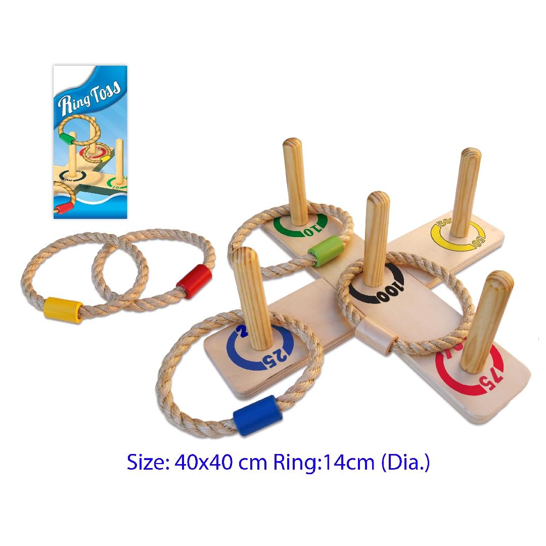 Five Pole Ring Toss