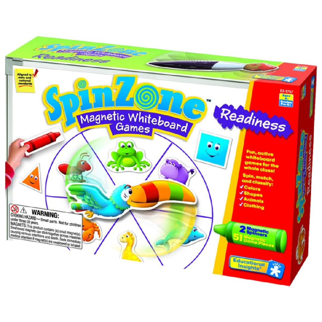 Spin Zone Magnetic Whiteboard Games