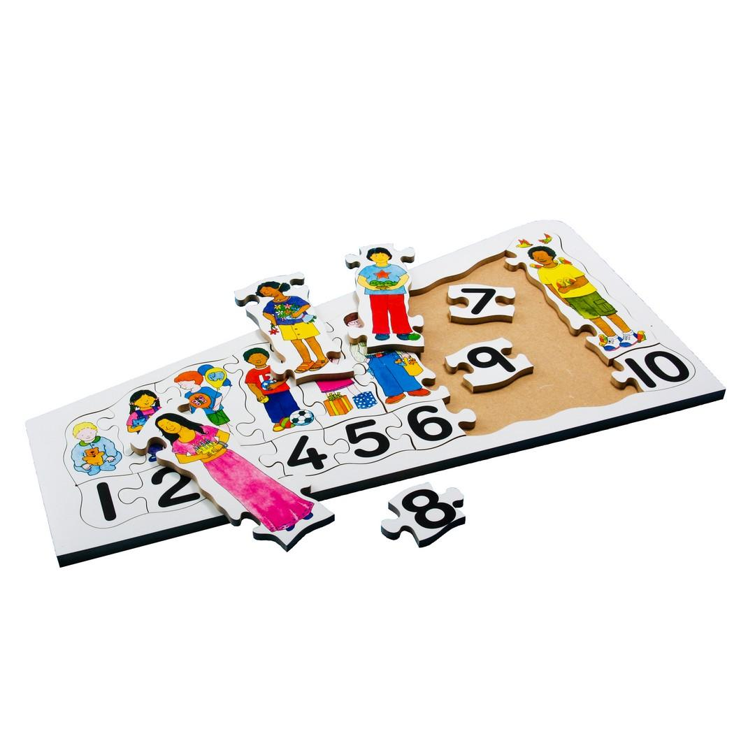 Children Counting Tray Puzzle (20pcs)
