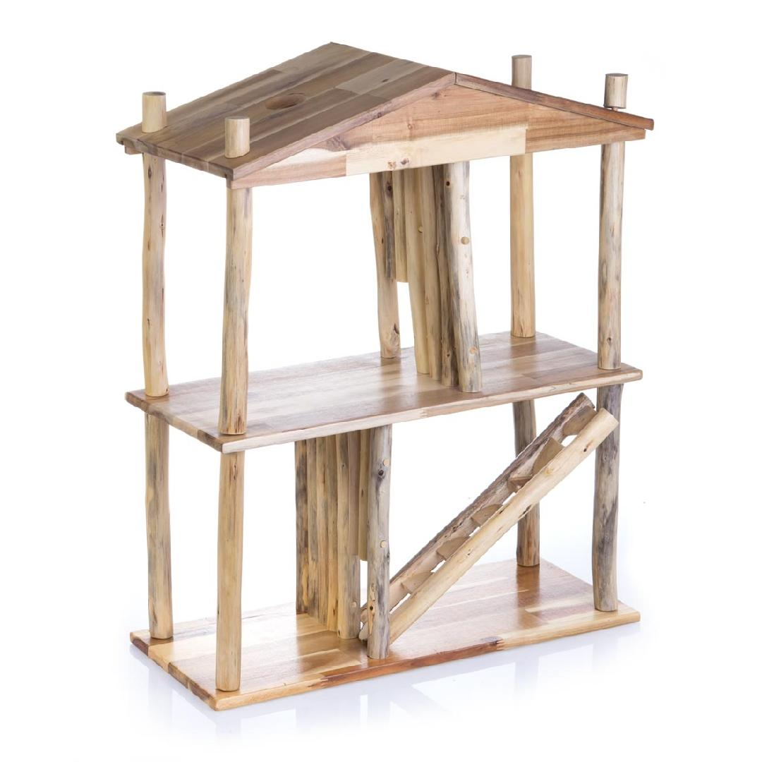 Natural Wooden Dolls House