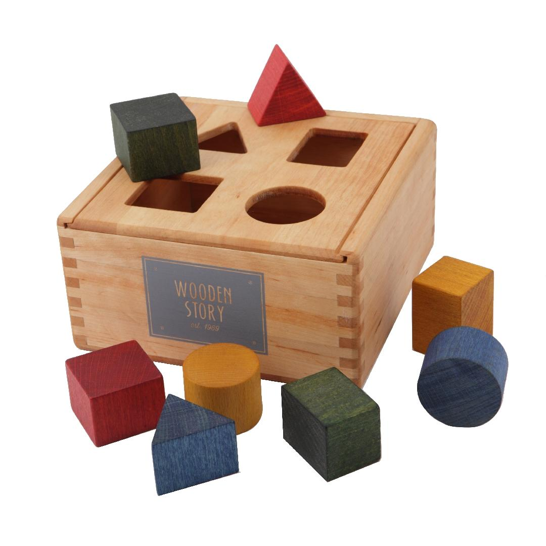 Wooden Story Sorting Box