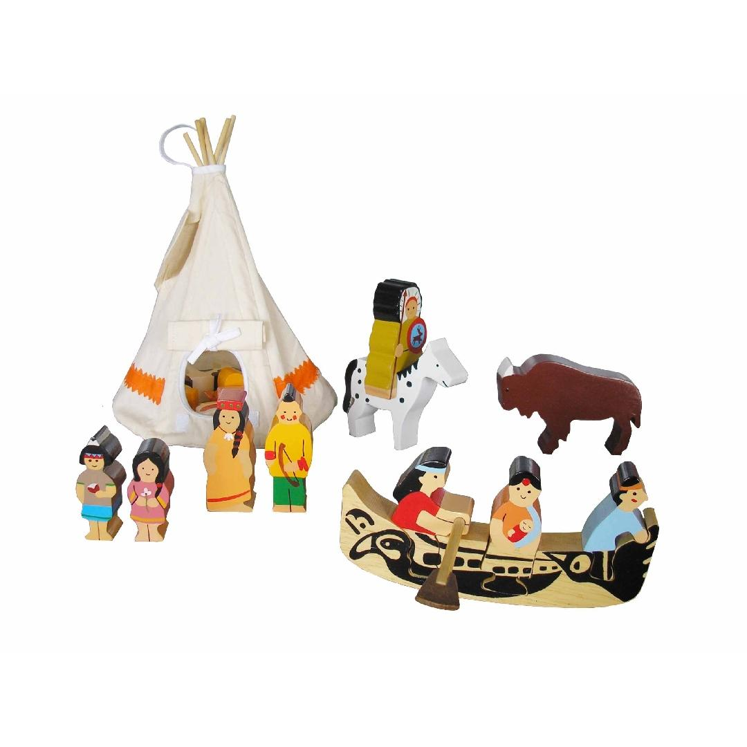 American Indian Playset (16pcs)