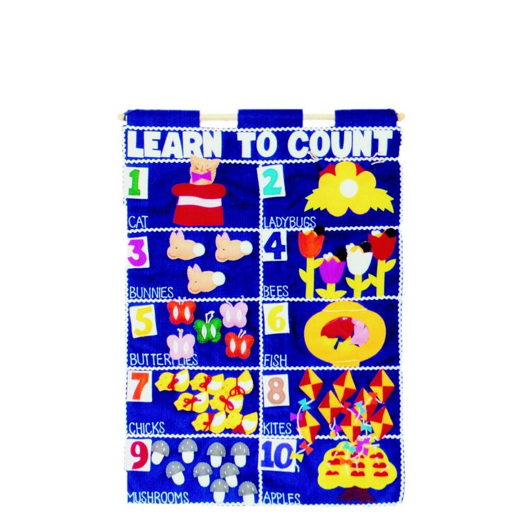Learn to Count Wall Chart