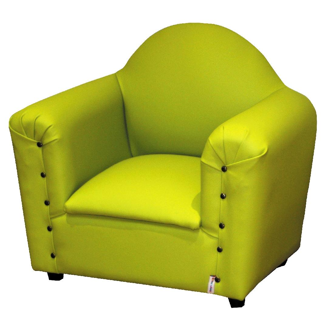 Premium Vinyl Single Childrens Lounge - Pistachio