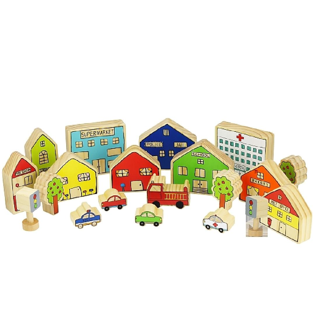 The Busy Village Playset (20pcs)
