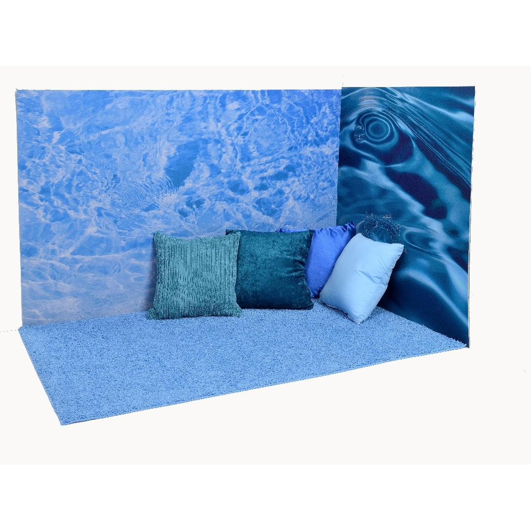 Ocean Playmat & Cushion Corner Set