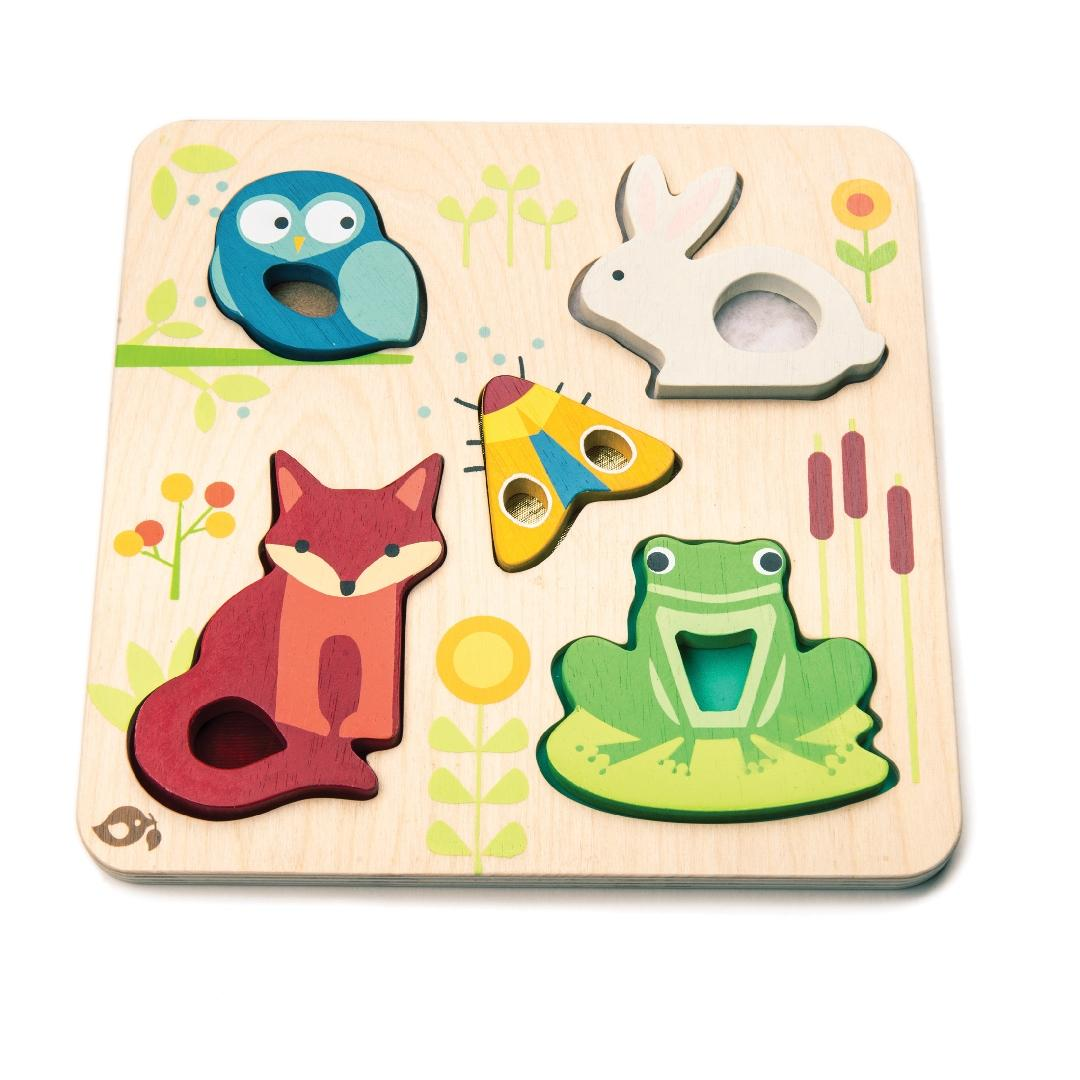 Touch & Feel Animals Puzzle