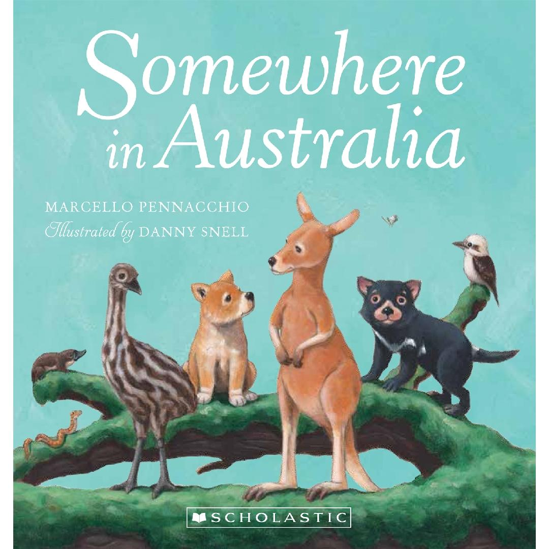 Somewhere in Australia Baby Book