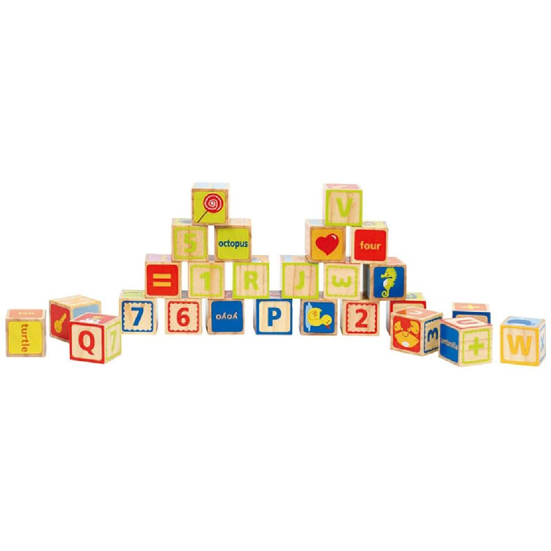 Hape ABC Blocks (26pcs)