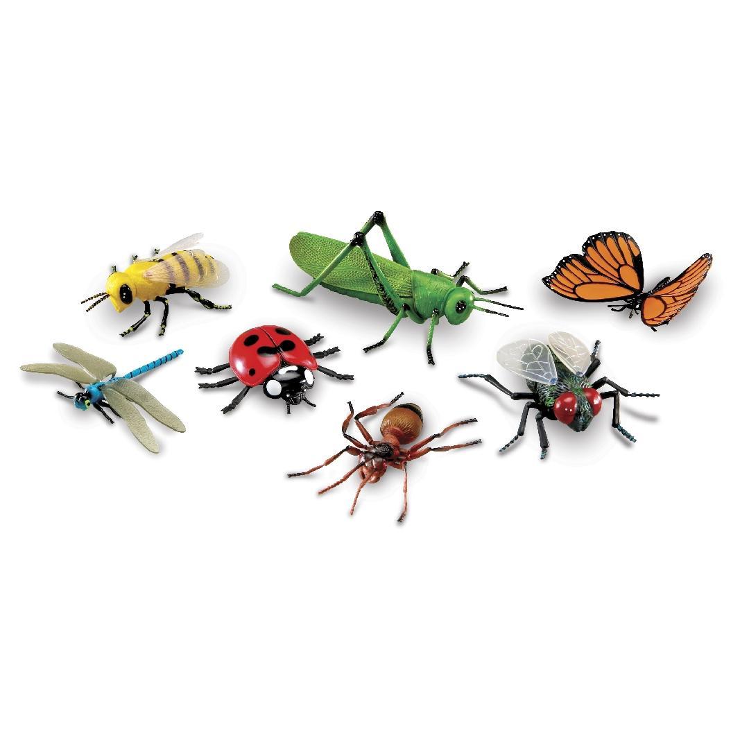 Jumbo Insects (7pcs)