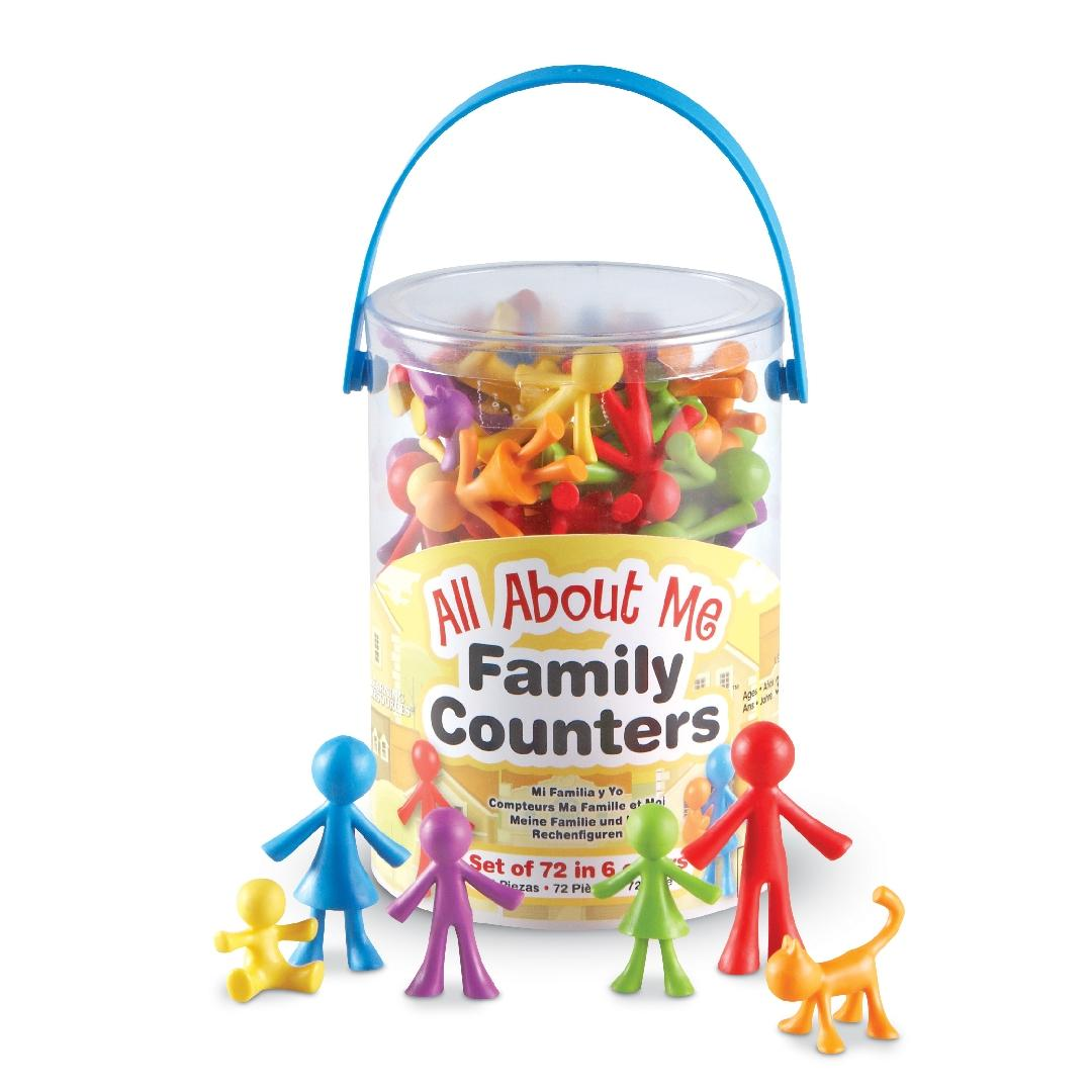 All About Me Family Counters (72pcs)