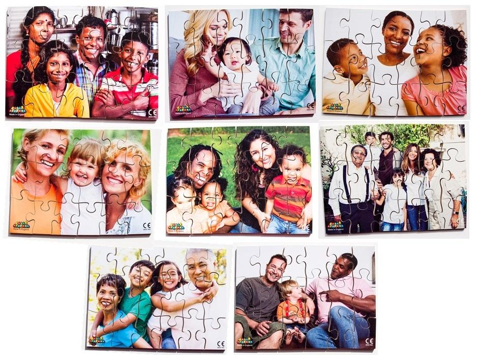 Modern Families Diversity and Inclusion Puzzles (8 puzzles)