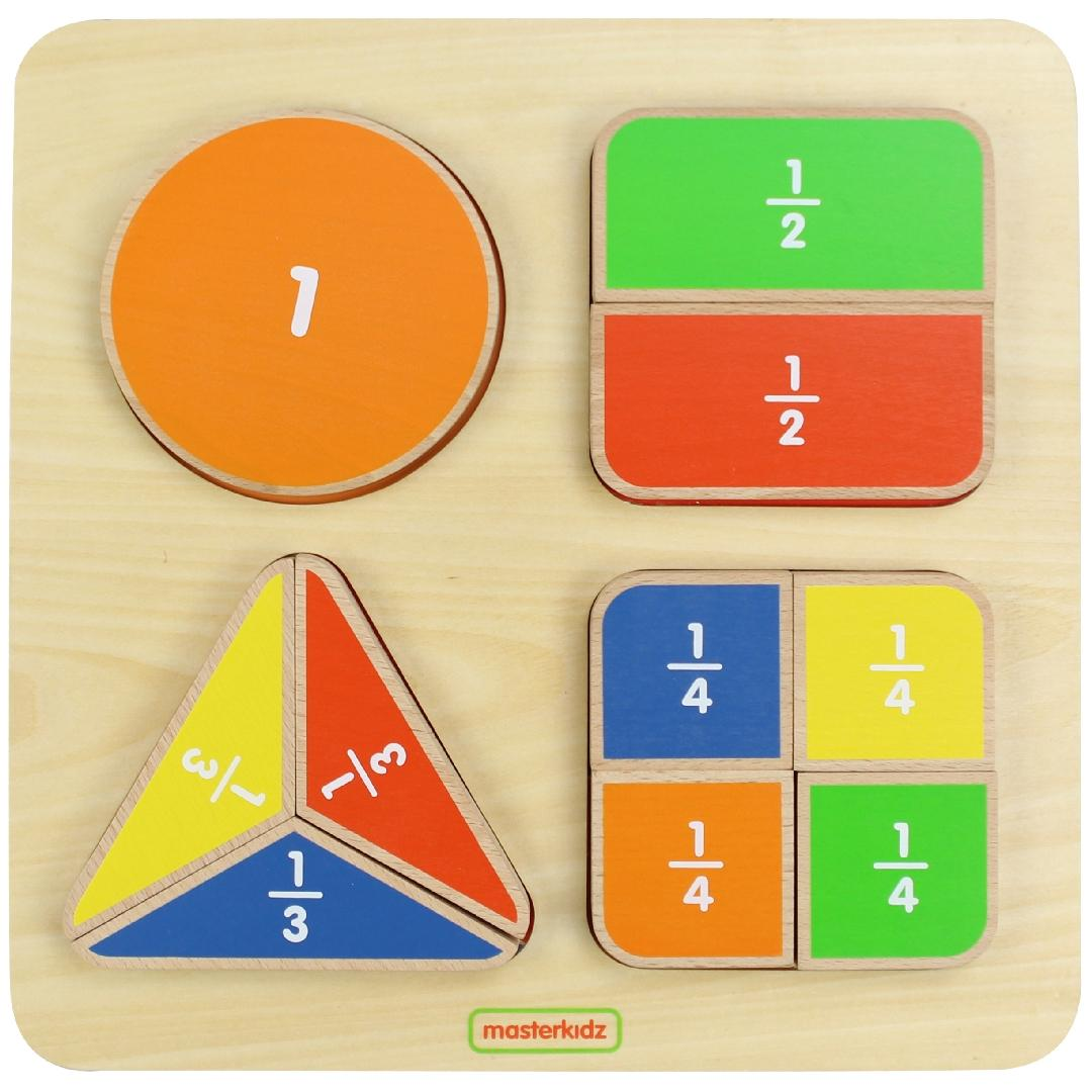 Geometric Fraction Board