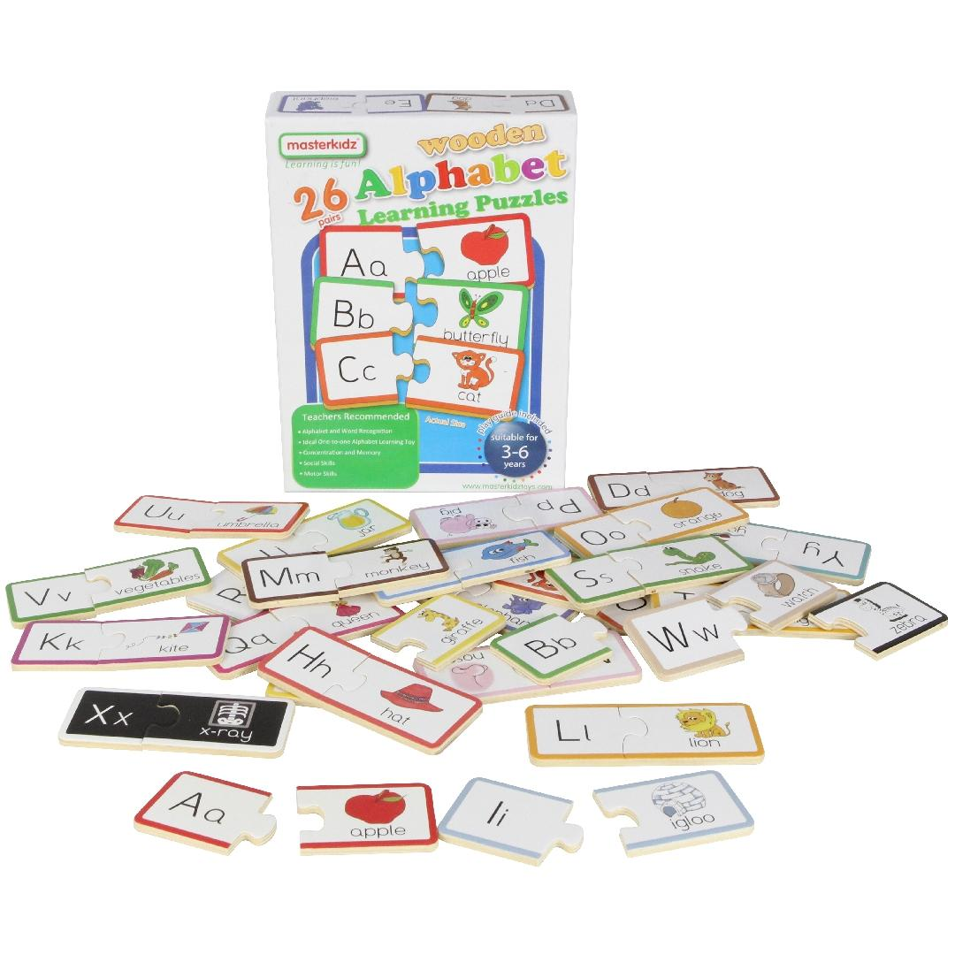 Alphabet Matching Puzzles (Set of 26)