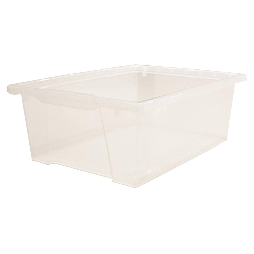 Storage Tray Deep - Clear