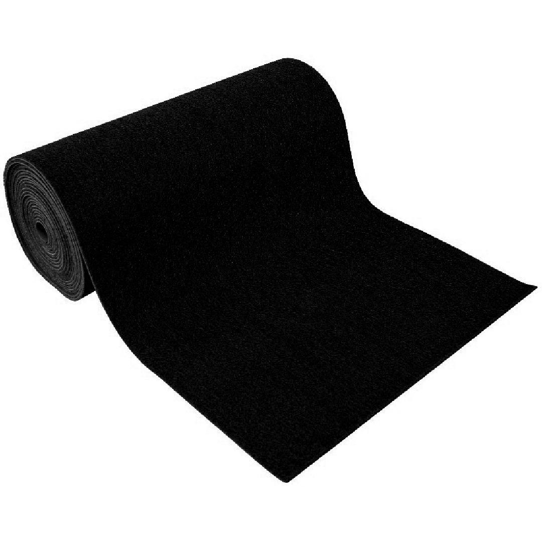 Himesh Roll Black 120cm wide per metre