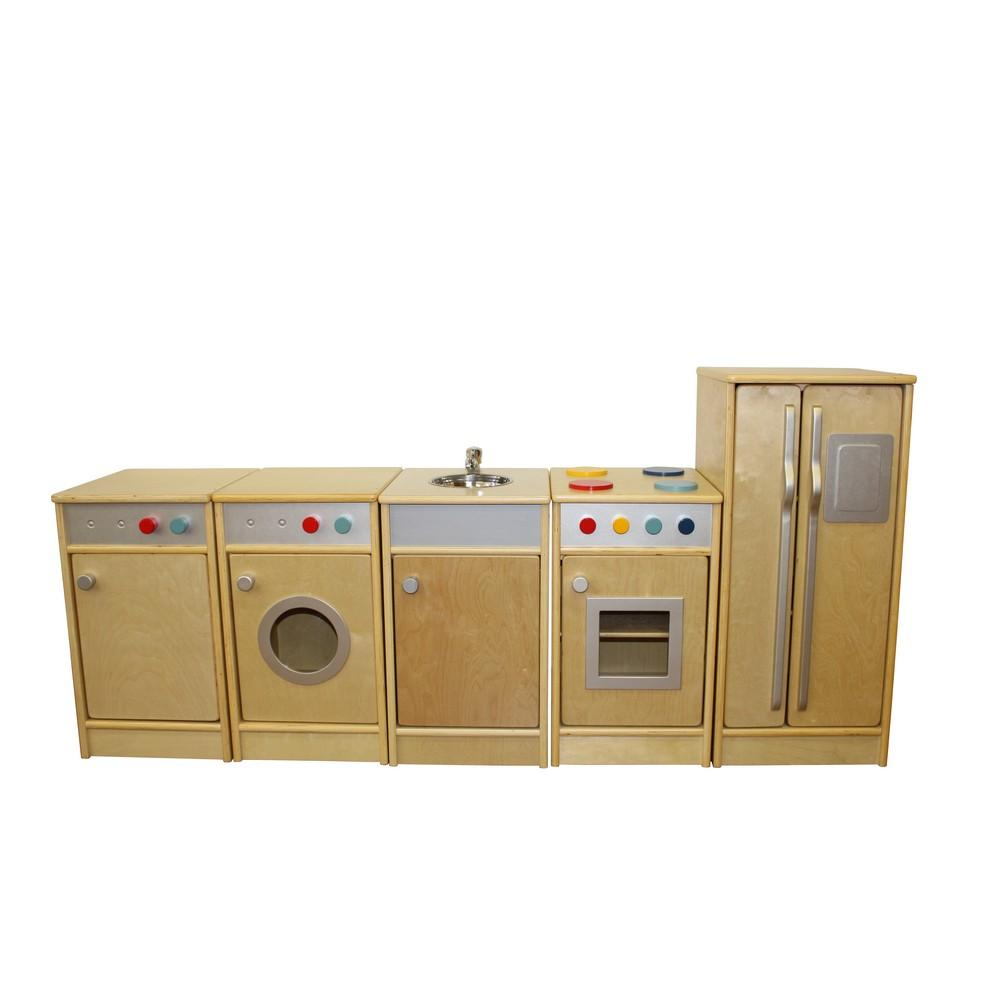 Natural Role Play Kitchen Set (5pcs)