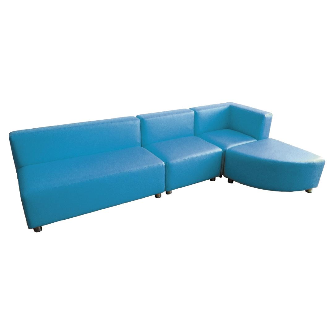 Modern Sofa Setting Ocean (4pcs)