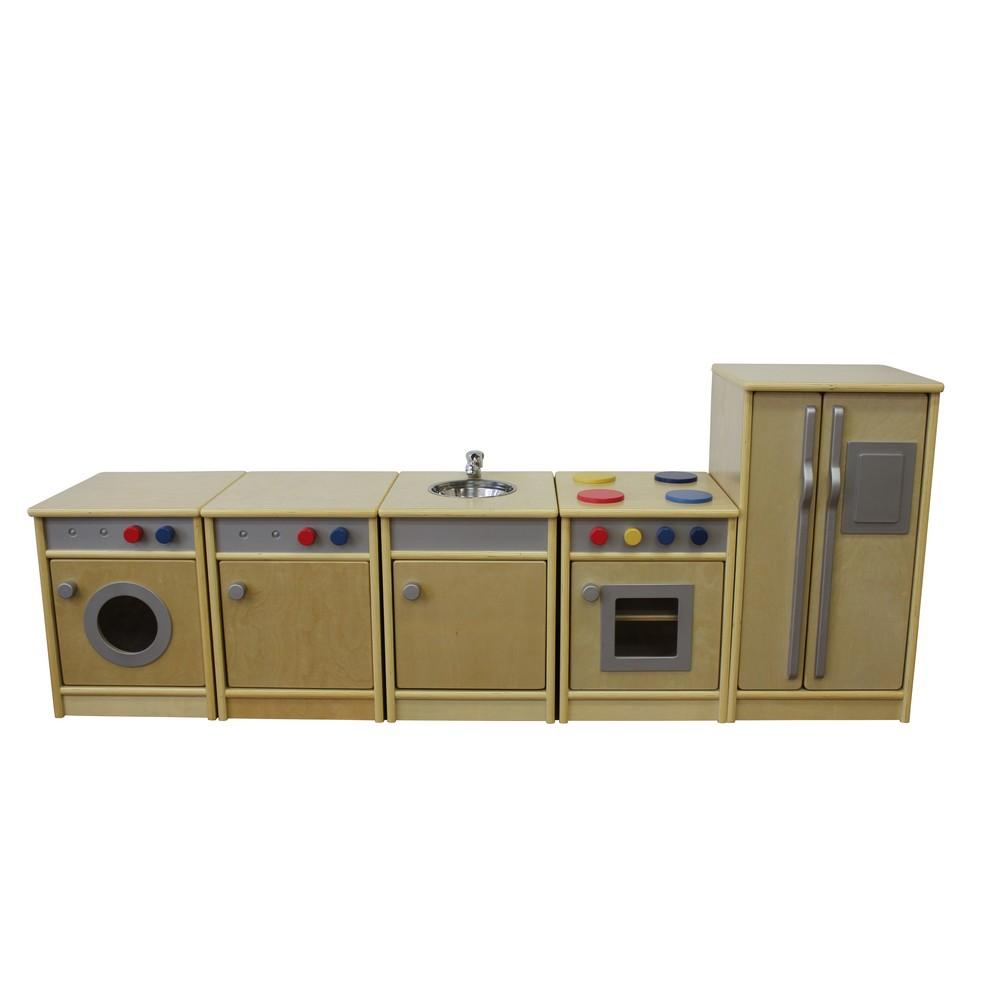 Natural Toddler Role Play Kitchen Set (Set of 5)