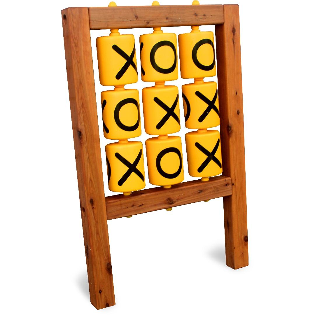 Timber Naughts & Crosses