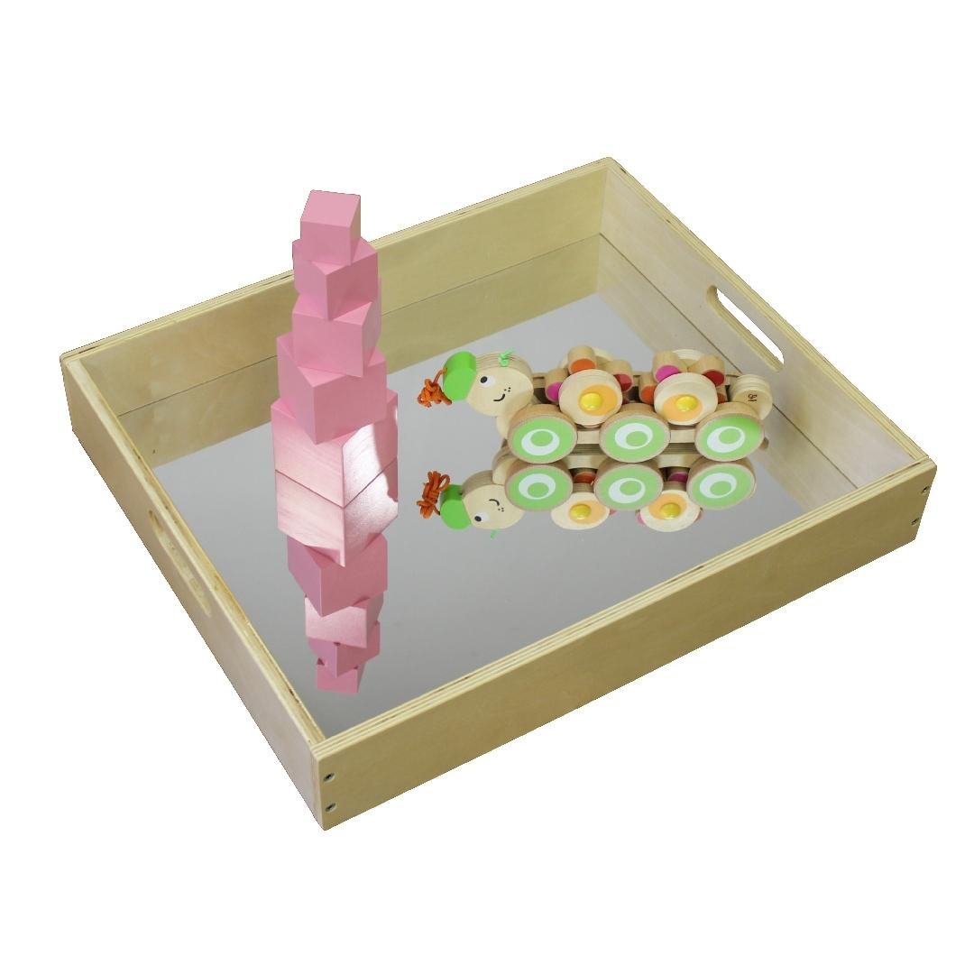 Birchwood Mirrored Sensory Tray