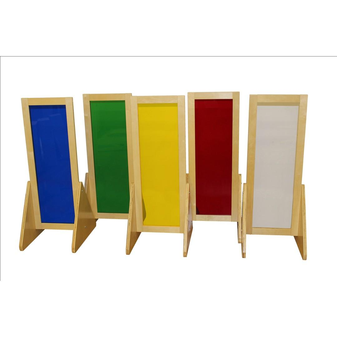 Birchwood Colourful Sensory Stands (Set of 5)