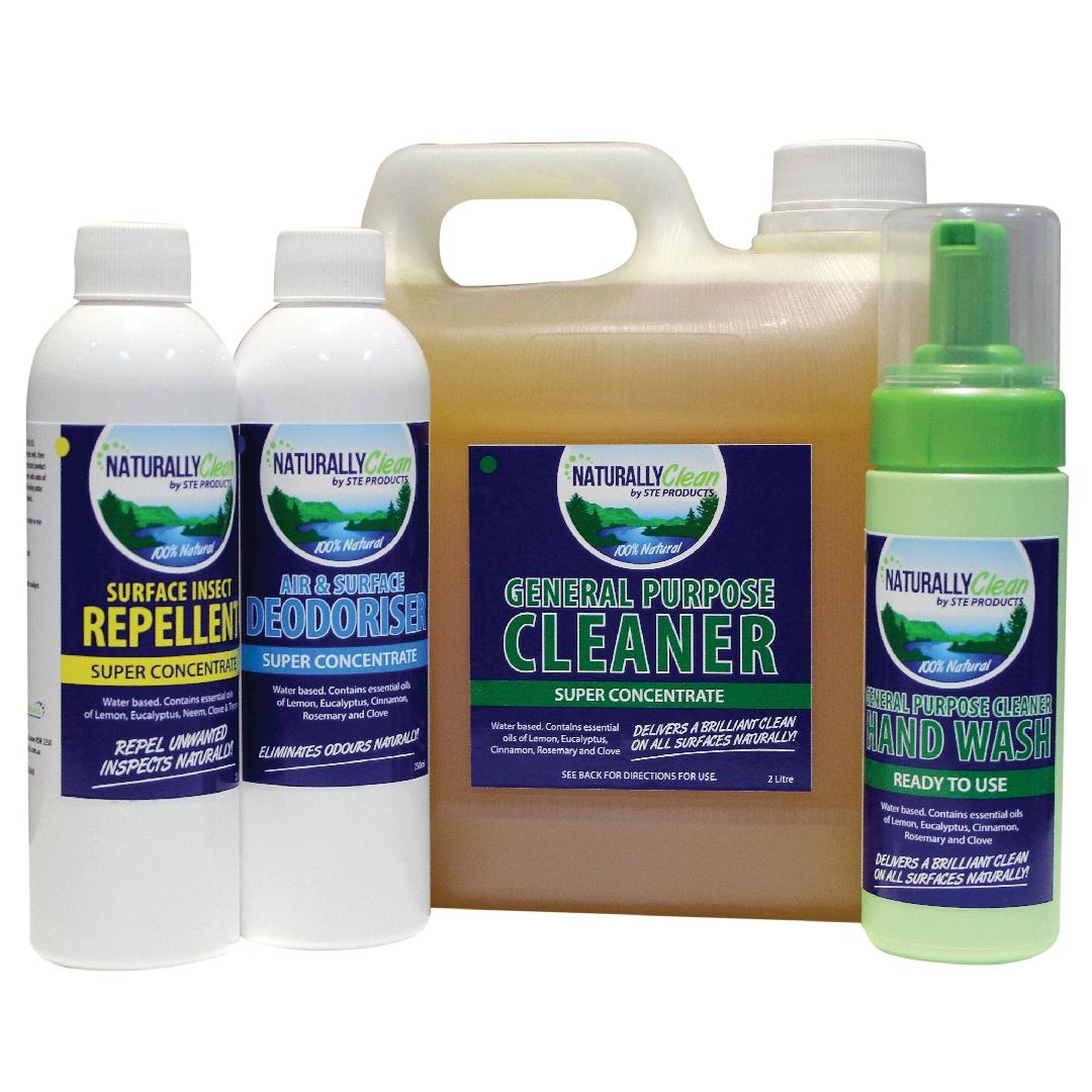 NaturallyClean Complete Pack