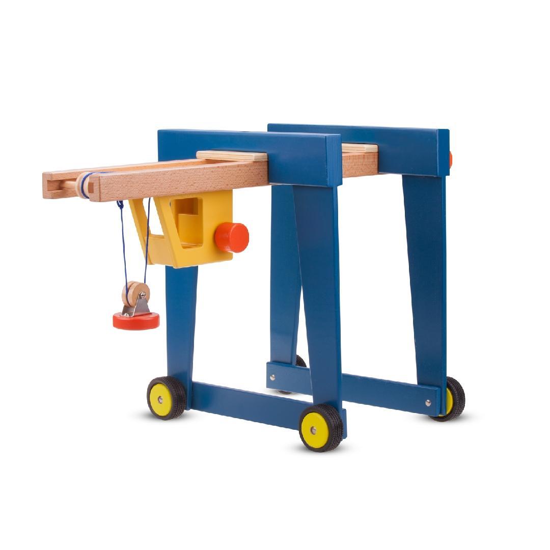 Wooden Container Crane
