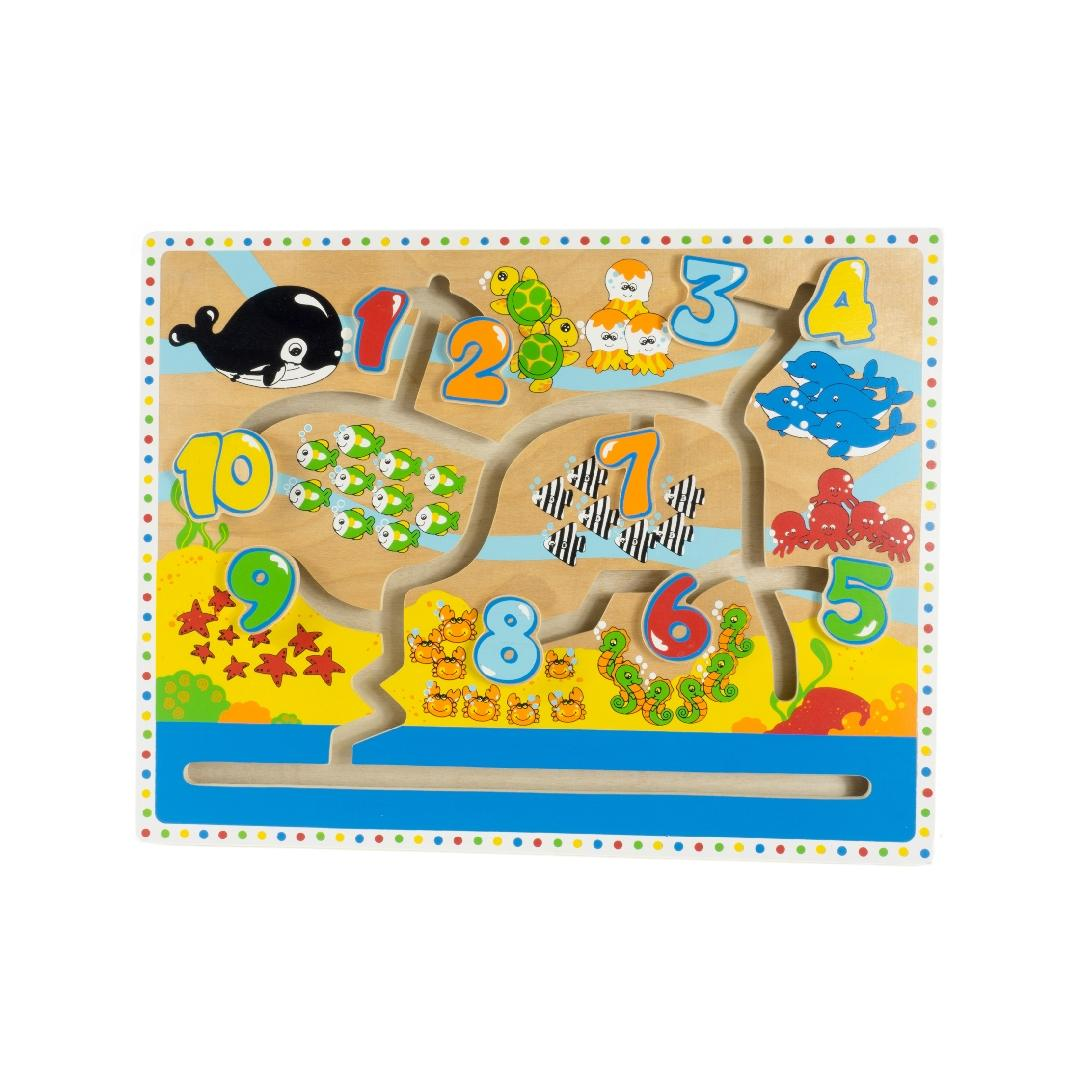 Counting Animals Maze Puzzle