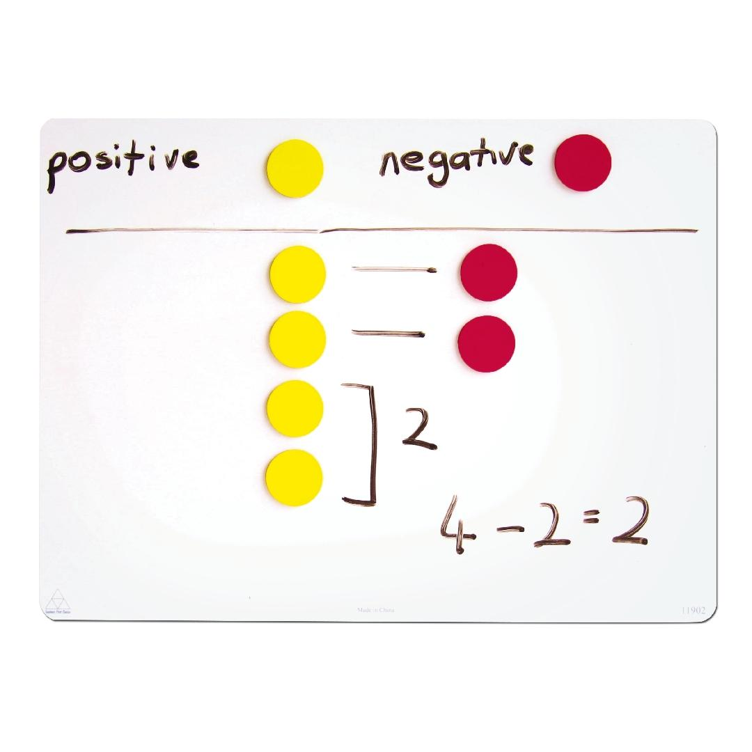 Two Colour Magnetic Counters (50pcs)