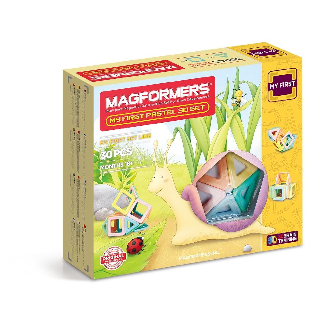 My First Pastel Magformers Set (30pcs)