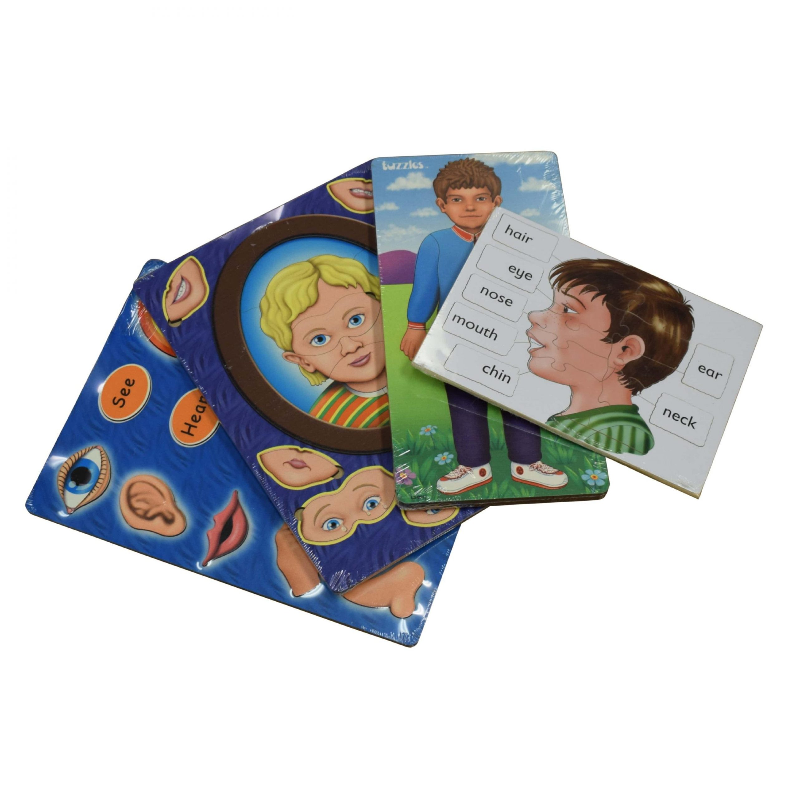 Body Basics Puzzles Set of 4