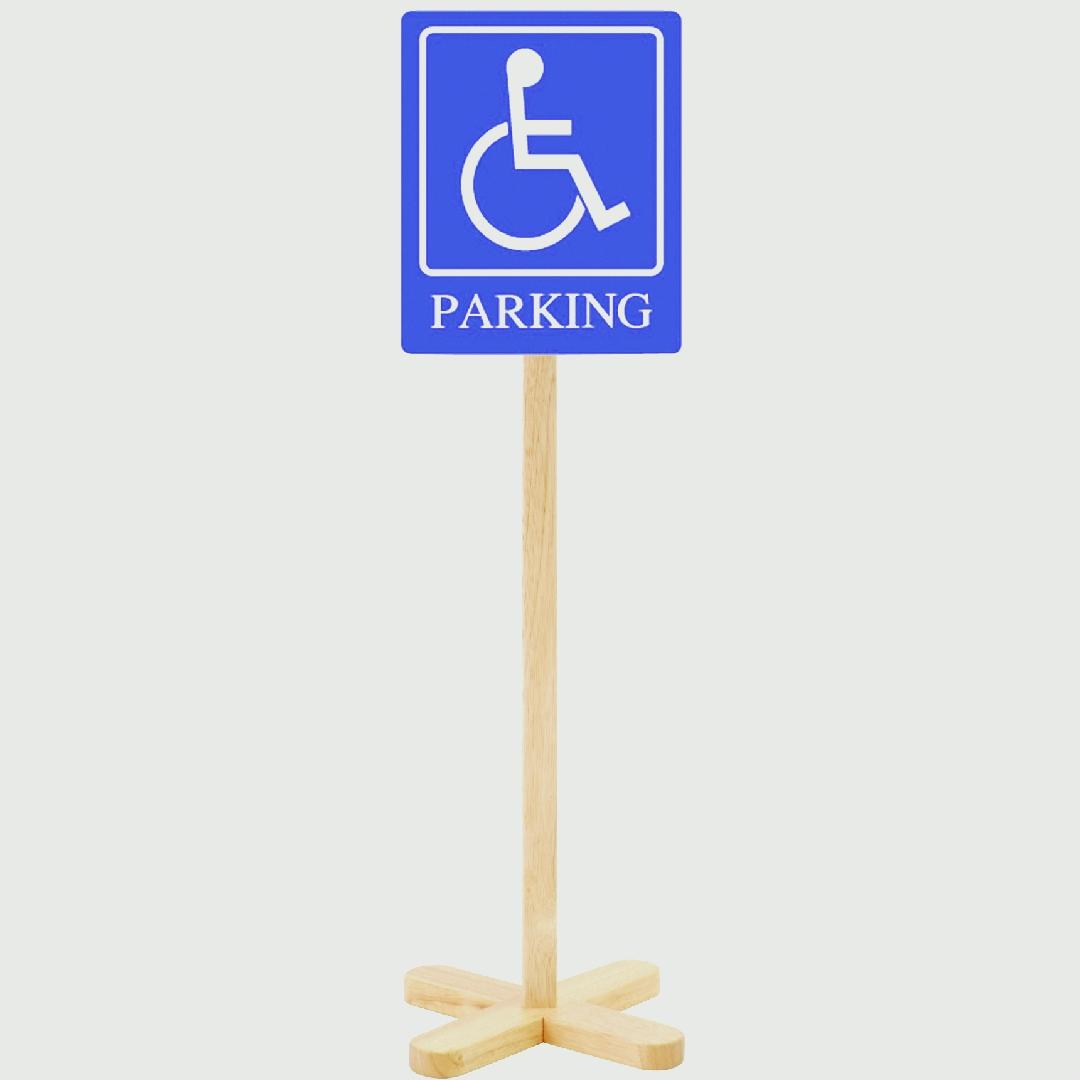 Traffic Sign - Disabled Parking