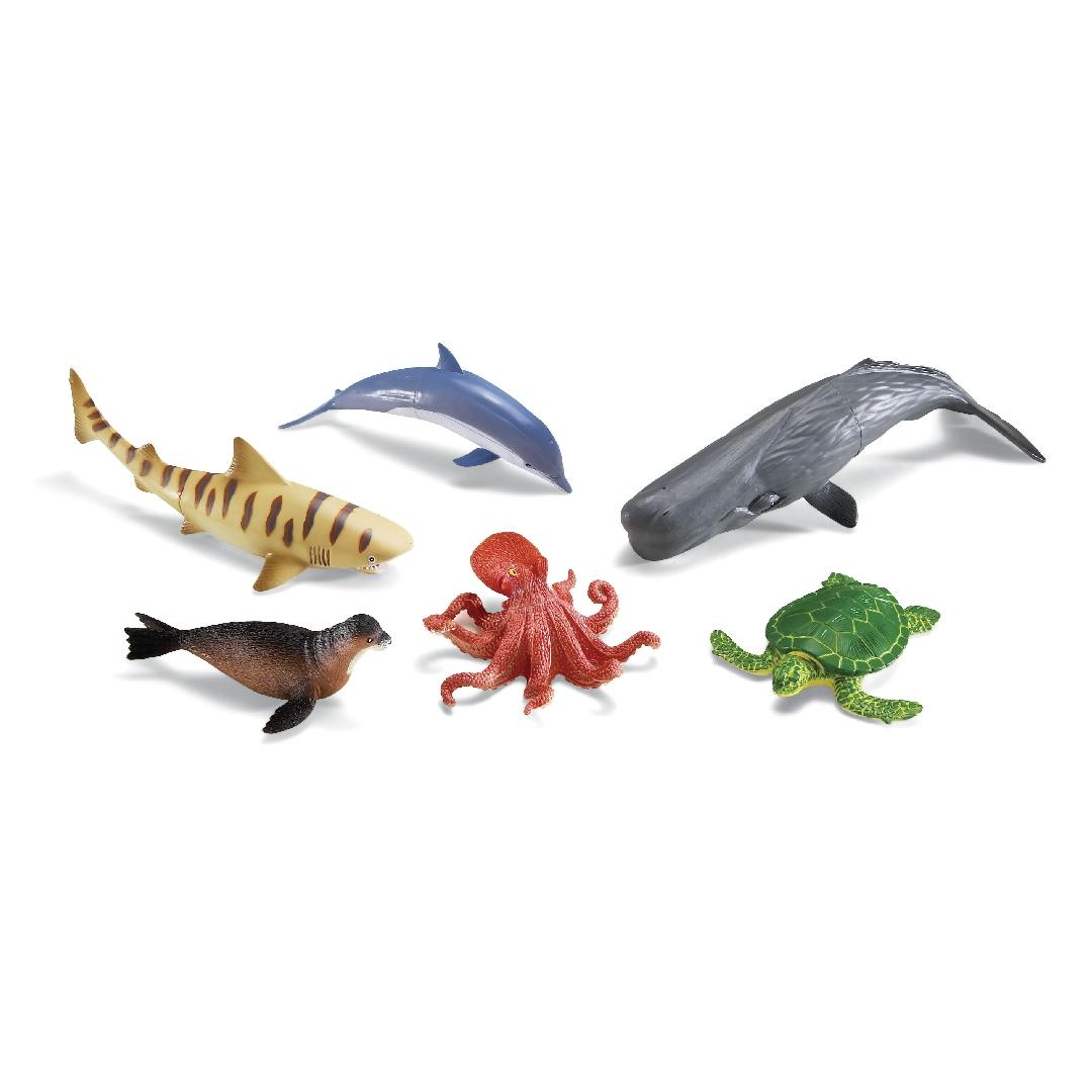Jumbo Ocean Animals (6pcs)