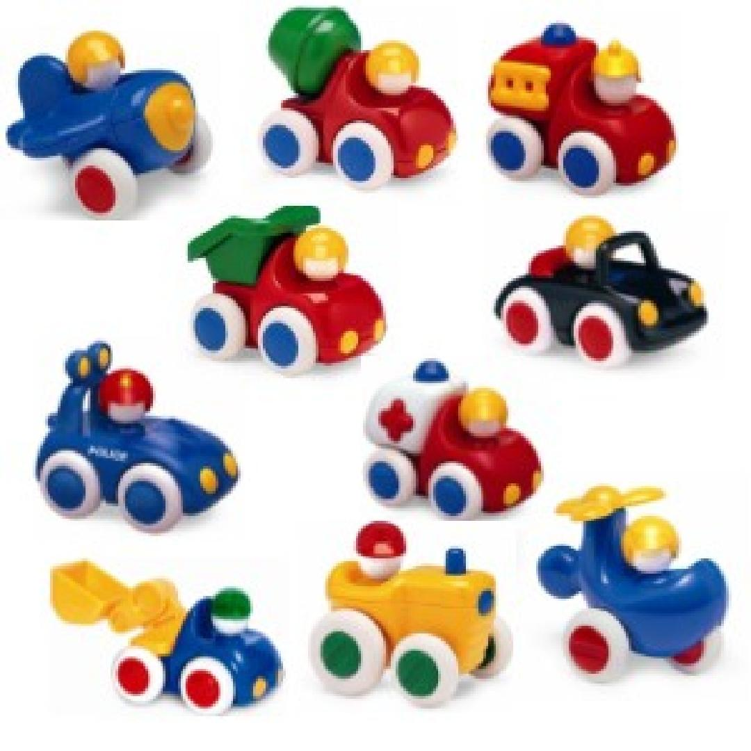 First Vehicles (10pcs)