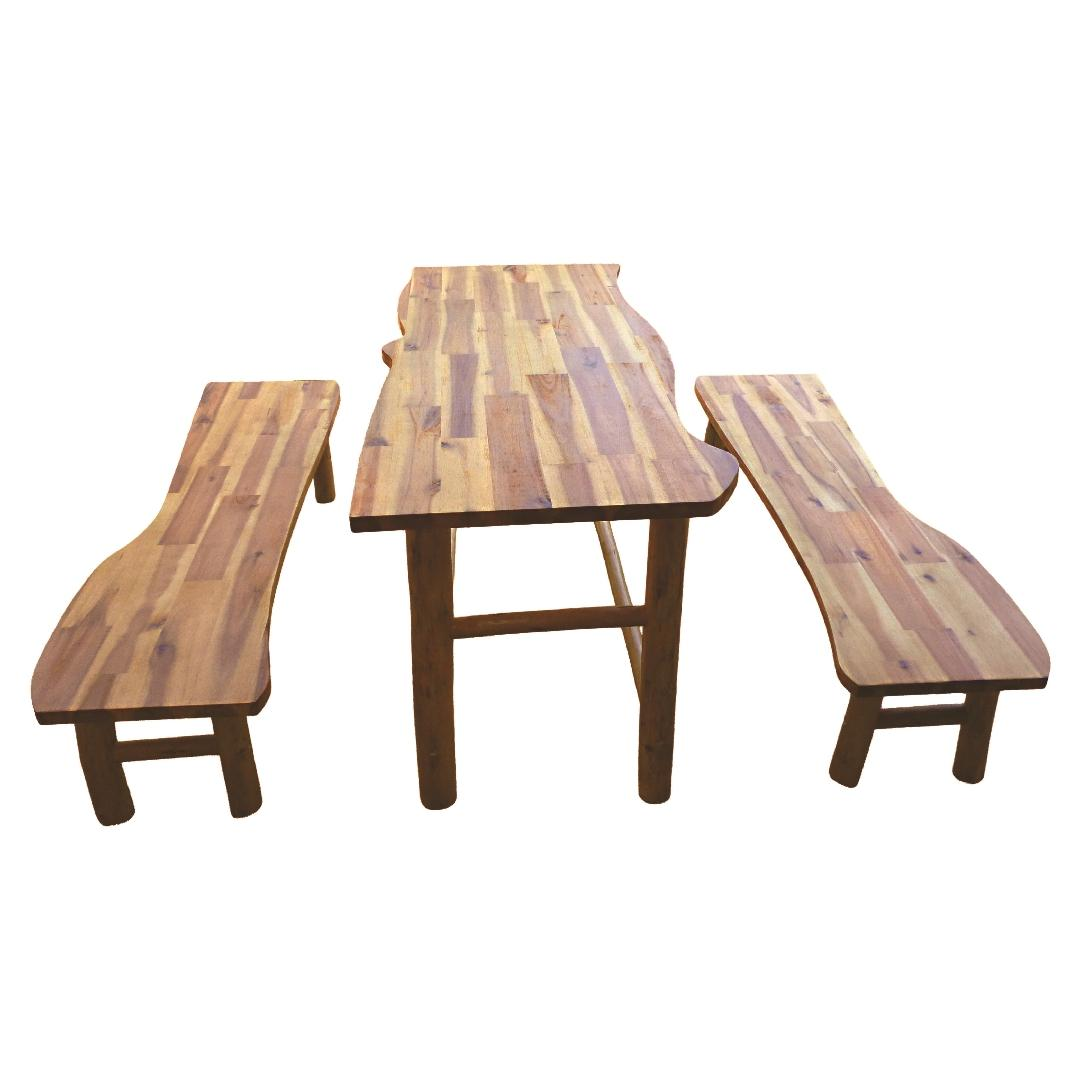 Treewood Table & Bench Set Medium