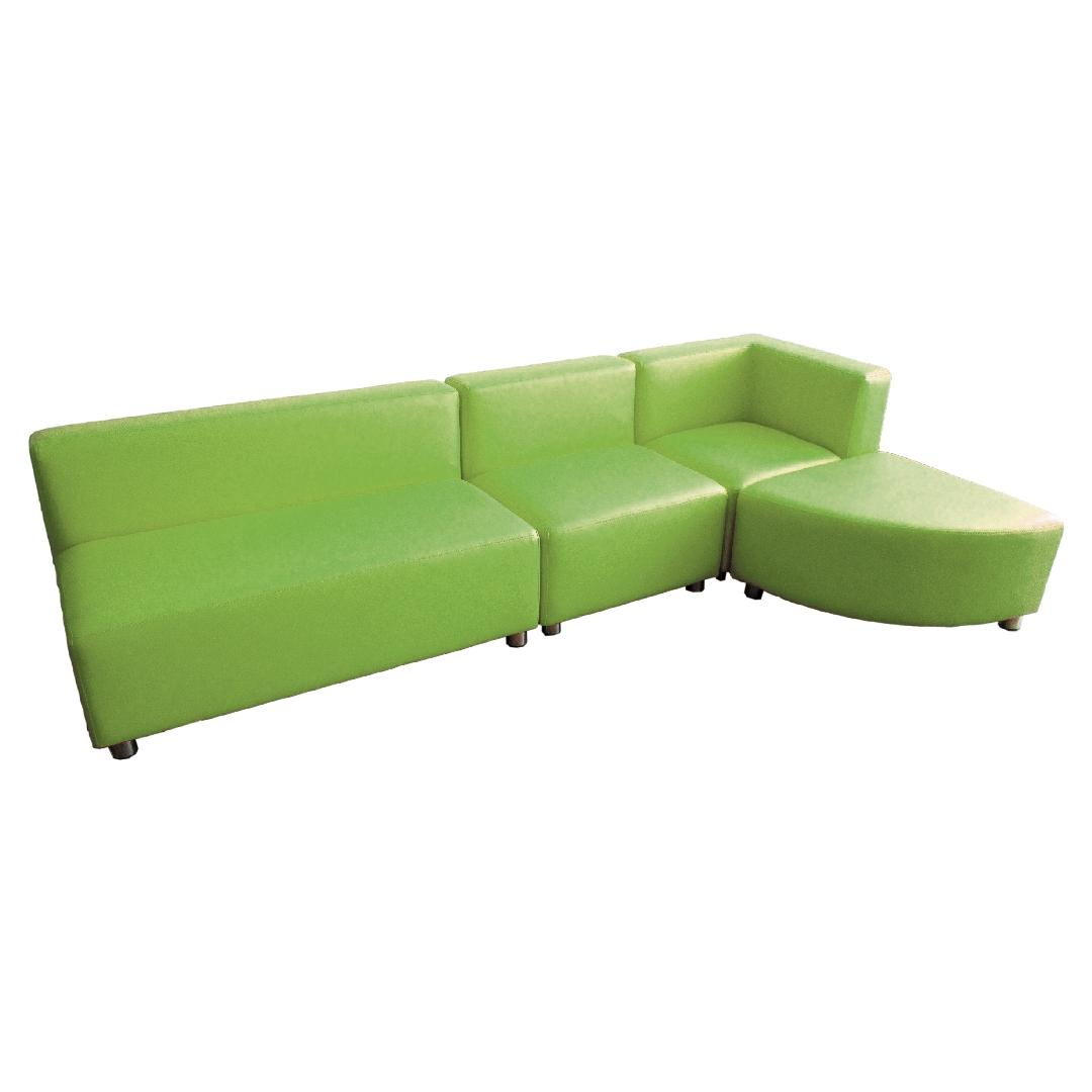 Modern Sofa Setting Lime (4pcs)