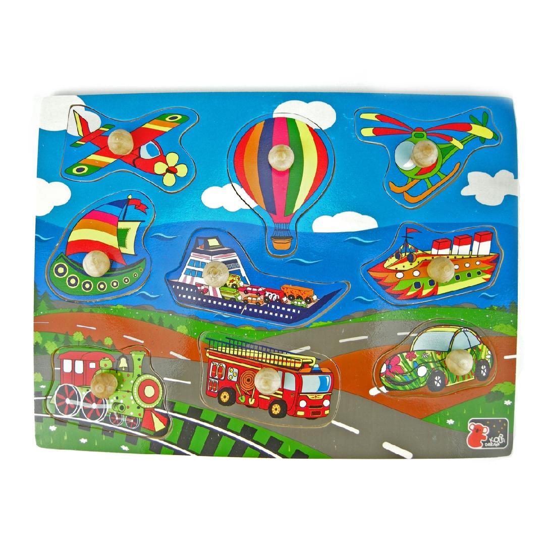 Transport Peg Puzzle