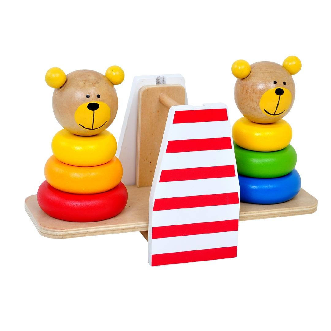 Balancing Bear Stacker